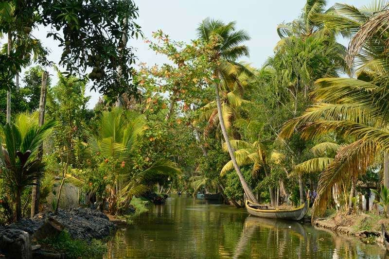 De Backwaters van Kerala<br>