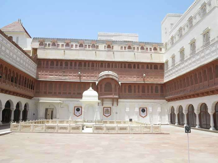 Junagarh Fort in Bikaner<br>